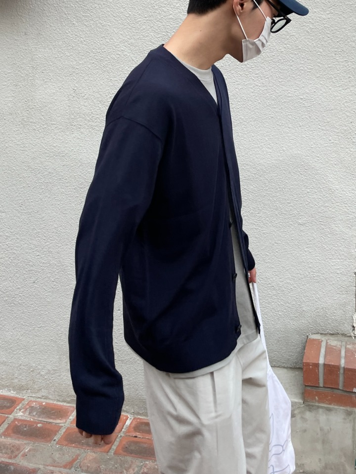 Bay Loose Fit Linen Cardigan